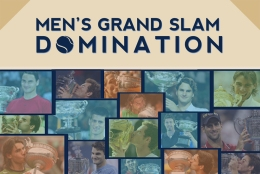 Men's Grand Slam Domination Infographic
