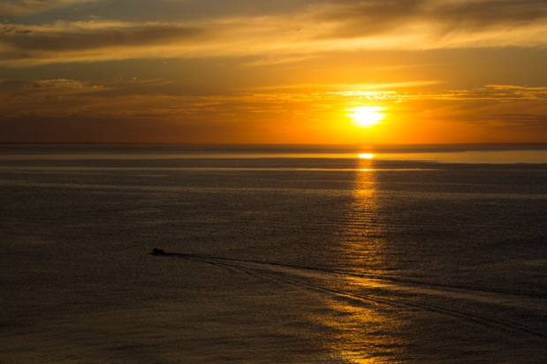 Port Phillip Bay sunset from Mt Martha (Photo: Jake Stevens)