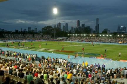 Nitro Athletics crowd Melbourne