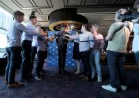 Nitro Athletics Press Conference Crown